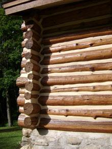 Log Home Chinking And Caulking Sealing Log Homes High