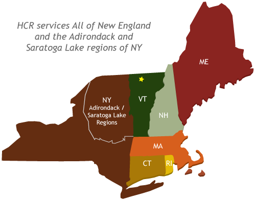 High Country Restoration Service Area New England The